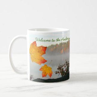 Tazas de café personalizadas casa del lago