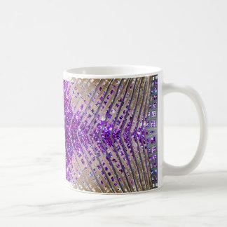 Tazas de café únicas chispeantes del diseño