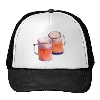 Tazas de cerveza gorras