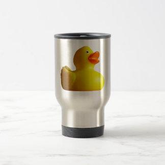 Tazas de goma amarillas de Duckie