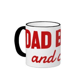 Tazas de la banda y de la frialdad del papá