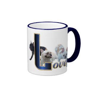 Tazas de la bebida de los regalos del dogo francés