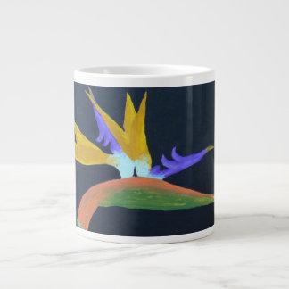 Tazas de la especialidad de la ave del paraíso taza grande