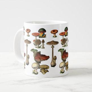 Tazas de la especialidad de la guía de la seta del taza jumbo