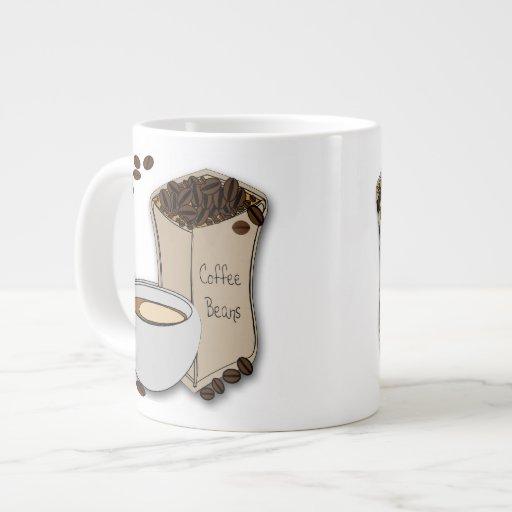 Tazas de la especialidad del diseño de la taza de