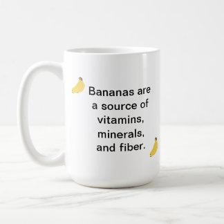 Tazas de la fibra de los minerales de las