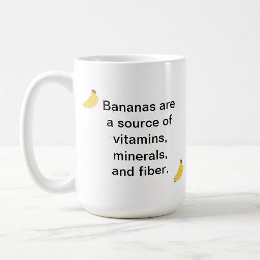 Tazas de la fibra de los minerales de las vitamina