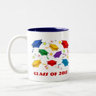 Tazas de la fiesta de graduación - clase de 2013