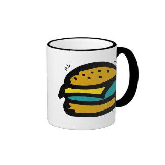 tazas de la hamburguesa