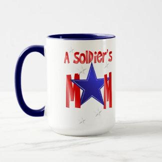 Tazas de la mamá de un soldado