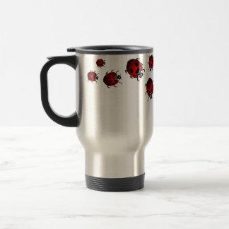 Tazas de la mariquita de los regalos de la taza