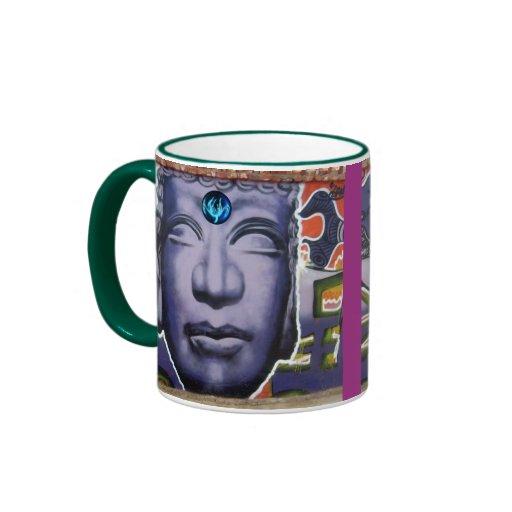 tazas de la mente de Buda