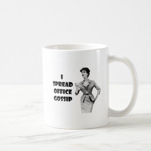 Tazas de la oficina de la diversión