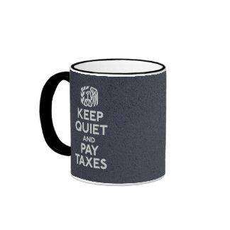 Tazas de la parodia del IRS