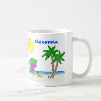 Tazas de la playa, tazas personalizadas de la