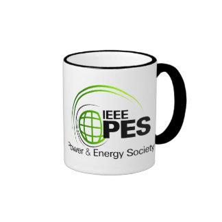Tazas de la sociedad del poder y de la energía de