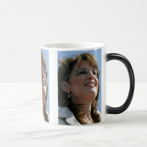 Tazas de los posters de Sarah Palin