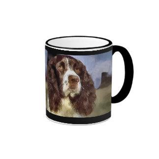 Tazas de los regalos del arte del perro de aguas d