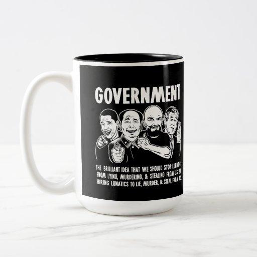 Tazas de Lunatics del gobierno