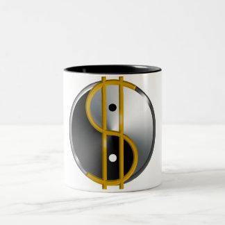 Tazas de Objectivist Yin/de Yang