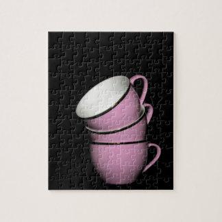 Tazas de té rompecabezas con fotos