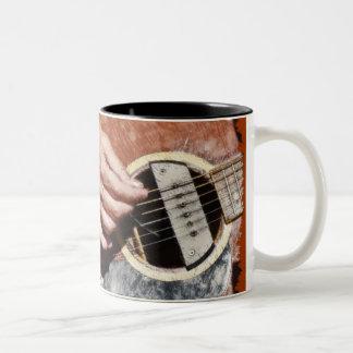 Tazas del amante de la música del JUGADOR de