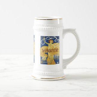 Tazas del anuncio del licor del vintage de Liqoure