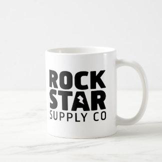 Tazas del Co. de la fuente de la estrella del rock