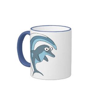 Tazas del delfín