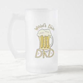 Tazas del papá de la cerveza
