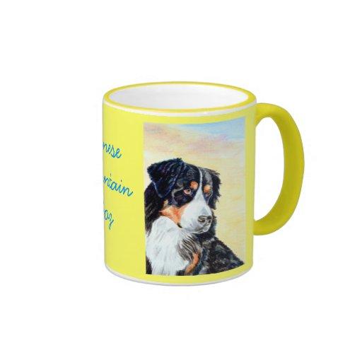 Tazas del perro de montaña de Bernese