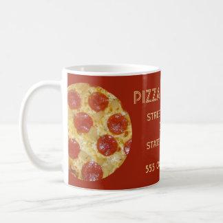 Tazas del personalizado de la sala de pizza