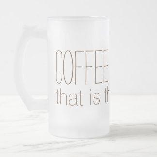 Tazas del personalizado del CAFÉ O del LICOR
