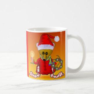 Tazas del ratón de Santa