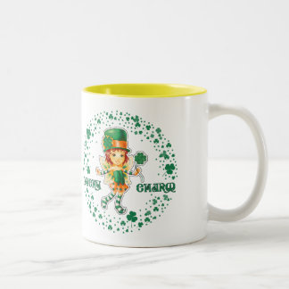 Tazas del regalo del día de St Patrick conocido de