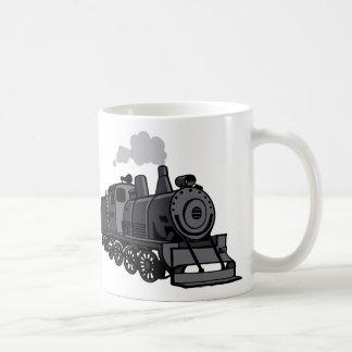 Tazas del viaje del tren
