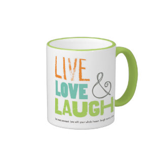 tazas diarias de la risa viva del amor