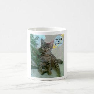 Tazas divertidas personalizadas del gato