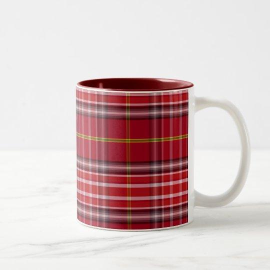 Tazas escocesas del diseñador del tartán del clan