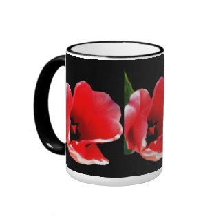 Tazas florales de la colección