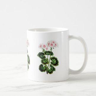 Tazas florales del vintage