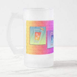 Tazas heladas - cócteles del arte pop