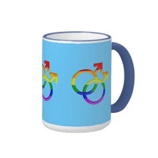 Tazas:  Interés gay Taza De Dos Colores