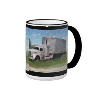 Tazas jubiladas del camión