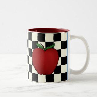 Tazas lindas de Apple