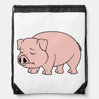 Tazas nacionales gritadoras del día del cerdo del mochila