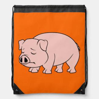 Tazas nacionales gritadoras del día del cerdo del mochilas