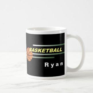 Tazas negras del baloncesto