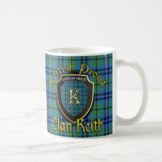 Tazas orgullosas escocesas de las tazas de Keith