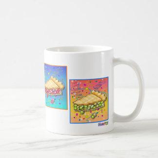 Tazas - pedazo de arte pop de la empanada